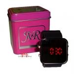Relógio de Pulso Digital LED quadrado