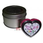 Relógio de mesa Coração-Love-Rosa