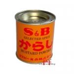 S&B Mustard powder - Karashi lt