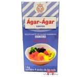 Agar Agar gelatina de algas marinhas - Kanten