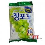 Bala sabor Uva Verde 153g