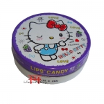 Bala sabor de Uva - Hello Kitty lata