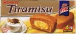 Bolinho de Chocolate e Café recheado com Cream-cheese-Tiramisu