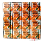 Chiclete sabor de Laranja-Marukawa Fusen Gum 48 pack Orange 259g