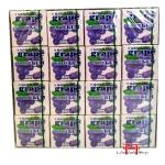 Chiclete sabor de Uva-Marukawa Fusen Gum 48 pack Grape 259g