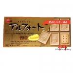 Chocolate amanteigado com Biscoito-Alfort  Blond Milk