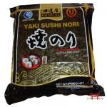 Alga Nori Tostado p/ Sushi, Temaki- Yakinori 50f - Kosher