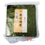 Folhas de Alga marinha Nori  para  Sushi, Temaki c/50f