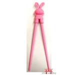 Hashi coelho rosa - 1 par