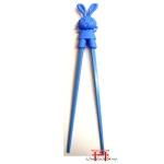 Hashi coelho azul - 1 par