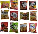 Macarrão coreanos, kit com 12 sabores (Korea)