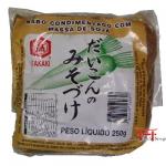Nabo condimentado com massa de soja