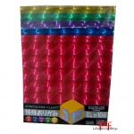 Papel colorido para origami 3D (15x15)