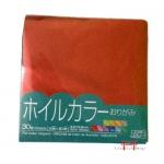 Papel colorido para origami aluminizados  (15x15)