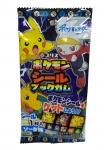 Pokemon, adesivo e chiclete, Japão (variado)