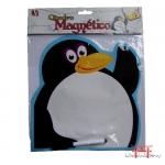 Quadro Magnético tipo lousa - Pinguim
