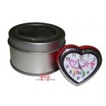 Relógio de mesa Coração-Love-Vermelho
