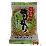 Salgadinhos crocantes com Wasabi