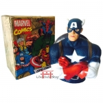 Avengers Captain America, bust safe