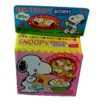 Tempero p/arroz Furikake Snoopy 20 packs