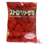 Bala mastigavel de morango 107g - Kasugai Gummy